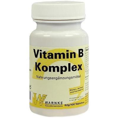 VITAMIN B Komplex Tabletten 100St Tabletten PZN 2204439 ()