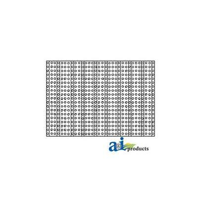 M1728t New Front Grille Screen For John Deere Tractor 40 420