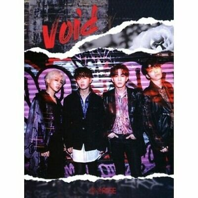 The Rose - [Void] 1st Mini Album CD+Booklet+1p PhotoCard+Tracking K-POP Sealed