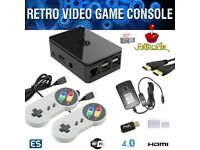 New Boxed Retro Gaming console with 28 different systems and 6000+ games with collections