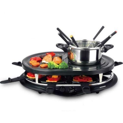 raclette grill fondue ebay. Black Bedroom Furniture Sets. Home Design Ideas