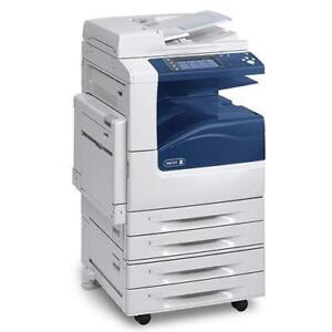 REPOSSESSED Xerox Workcentre WC 7845 45PPM Color Multifunction Printer Copier - BUY RENT LEASE Office copiers