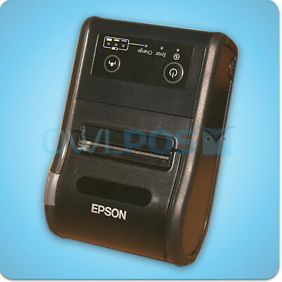 Epson Tm-p60ii Bluetooth Portable Mobile Thermal Receipt Printer Android M292b