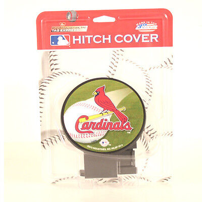 St. Louis Cardinals Major League Baseball MLB Multi Color Trailer Hitch Cover for sale  Shipping to Canada