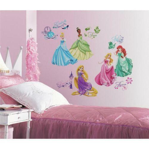Disney princess room decor ebay for Disney princess bedroom ideas