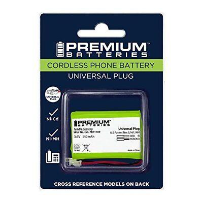 Premium Batteries Uniden BT-446 Vtech 89 Universal Cordless Phone Battery AAA3