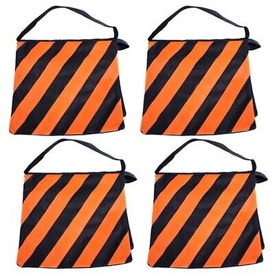 Stand Sandbags (Four Orange High Quality Photography Studio Stage Film Light Stand)