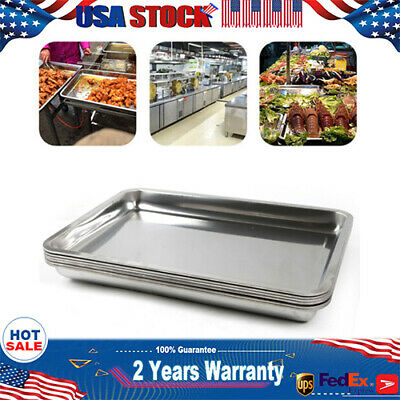 6 Pack 2 Deep 201 Stainless Steel Steam Table Pan Table Hotel Restaurant Pans
