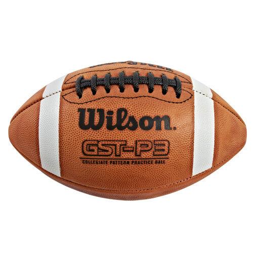 Wilson GST Practice Football (1003 Pattern) WTF1233B
