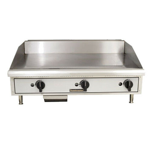 "Toastmaster Tmgm24 Gas Countertop Griddle 24"" W Manual Controls"