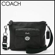 Coach Leather Pocket Swingpack