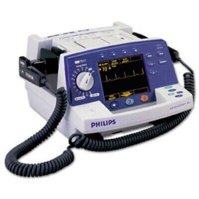 Philips Heartstart Xl Defibrillator Biphasic Pacing Ecg Recorder