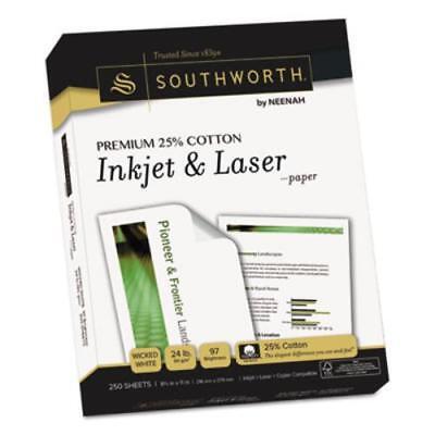 Southworth Premium Copy Multipurpose Paper - For Inkjet Laser Print - Letter