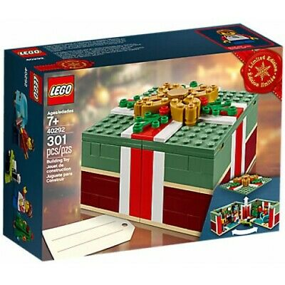 LEGO 40292 - 2018 Buildable Holiday Present - New/Sealed