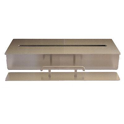 Bio Ethanol Burner Firebox Stainless Steel Fireplace Table Decoration 3l / 40 cm