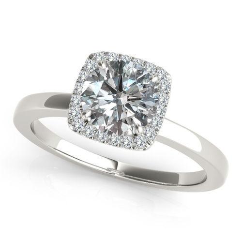 Solitär Ring aus Weißgold mit Diamanten günstig kaufen | eBay