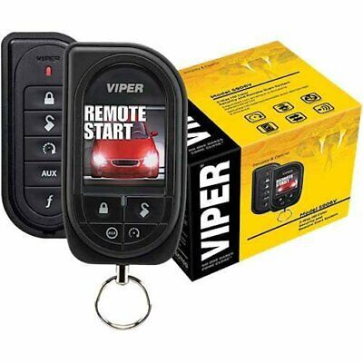 VIPER 5906V 2 WAY COLOR SCREEN REMOTE ALARM/ REMOTE START SYSTEM Up To 1 MILE