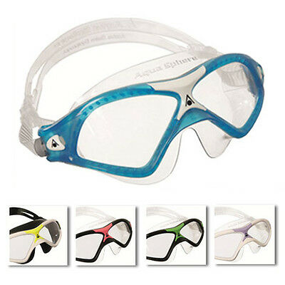 Aqua Sphere Seal XP2 Mens Swimming Goggles Open Water Mask All (Open Water Swim Goggles)
