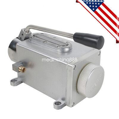 Hand Pump Lubricator Lubricating Oil Pump Manual Milling Machine Usa Fast Ship