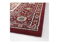 Moroccan style vintage look rug runner