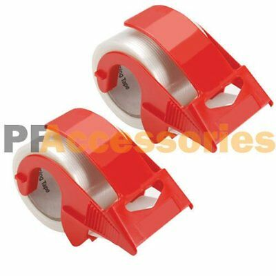 2x 2 Packing Tape Hand Dispenser For House Moving Shipping Box Packaging Tape