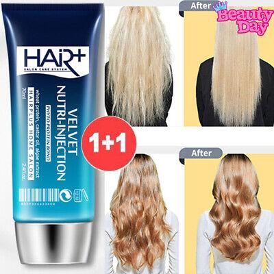 1+1 VELVET NUTRI INJECTION Protein Bond Ampoule 70ml Hair Essence Moisture Serum