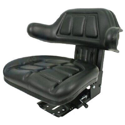Black Wrap Back Tractor Suspension Seat Ford New Holland 600 601800801 Wc