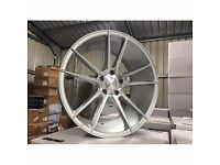 """20"""" veeman alloy wheels LIKE NEW ALLOYS. 5x112 mercedes. Audi a4 a5 a6 a7 a8 golf jetta passat etc"""