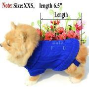 XXS Dog Sweater