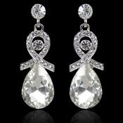 Swarovski Clear Crystal Dangle Earring