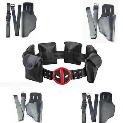 X-Men-deadpool Wedwilson Belt strap Gun Set Halloween - X Men Deadpool Costume