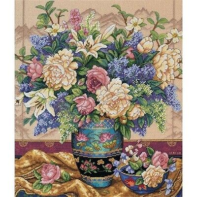Dimensions Gold Collection Oriental Splendor Counted Cross Stitch Kit - 304408
