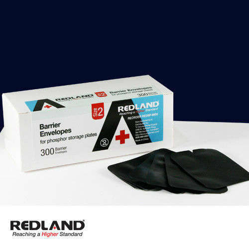 REDLAND Barrier Envelopes Phosphor Storage Plates 2400pcs Size 2-FDA