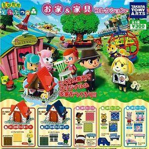 Takara Tomy Yujin ANIMAL CROSSING Forest Houses & Figure Playset Full set