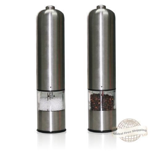 Automatic Salt Dispenser ~ Electric pepper grinder ebay