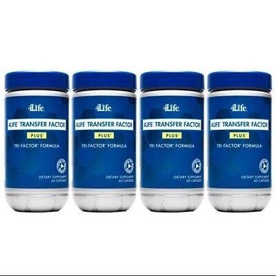 4Life Foundation 4 Pack Transfer Factor Plus 60 Capsules