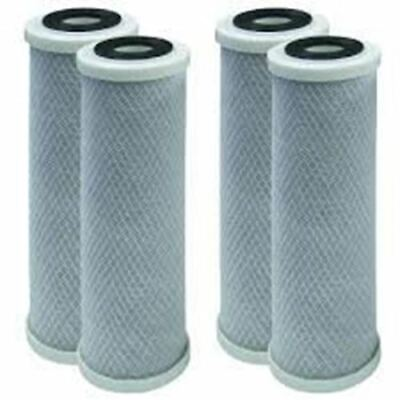 4 Pack Compatible for Flow-Pur 8 Carbon Block Filter Cartridge WCBCS-975-RV by C (Pur 4 Pack)