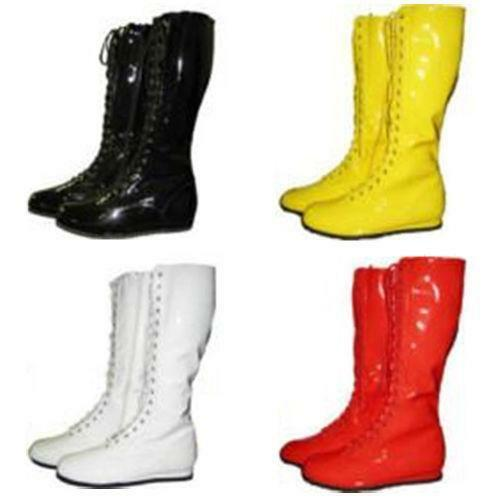 Black Superhero Boots Ebay