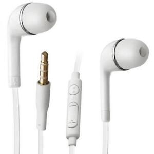 Best Price White In-Ear Retractable Stereo Headset With Mic For Sprint LG G4 - Sprint LG Google Nexus 5 - Sprint LG Optimus...