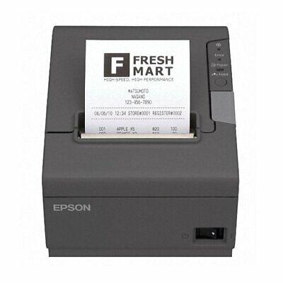 Epson TM-T88-V Thermo-Bondrucker USB schwarz TOP-Zustand TMT-88-V TMT-88V ()