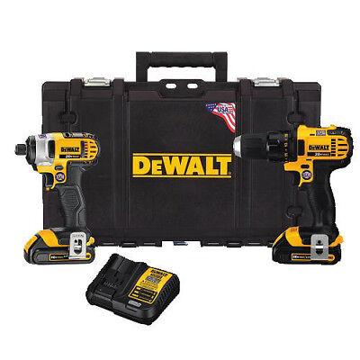 DEWALT 20V MAX Li-Ion 2-Tool Combo Kit DCKTS280C2R Reconditioned