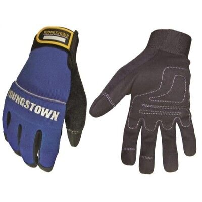 Youngstown Glove 06-3020-60-medium Mechanics Plus Performance Glove Blue
