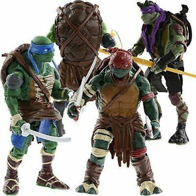 Teenage Mutant Ninja Turtles Movie Action Figures Set: Leo Ralph Donnie Mikey](Turtles Kids)