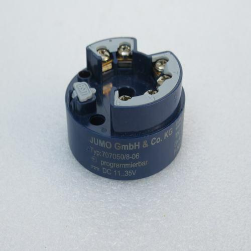 1pc New JUMO temperature transmitter 707050/8-06