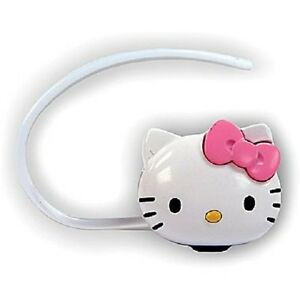 $59.99 Cute Hello Kitty KT4700 Bluetooth Headset Kit White And Pink