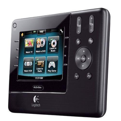 logitech harmony 1100 universal remote control ebay. Black Bedroom Furniture Sets. Home Design Ideas