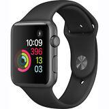 Apple Watch Series 1 38mm Aluminum Case Black Sport Band - (MP022LL/A)