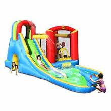 INFLATABLE WET AND DRY WATER SLIDE/JUMPING CASTLE - EX DEMO Blacktown Blacktown Area Preview