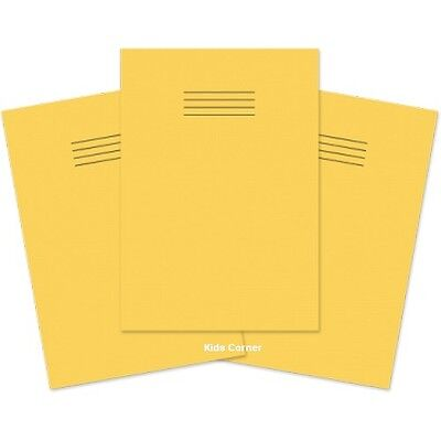 School Exercise Books A4 Size with Large 10mm 1cm Squares  Pack of 3