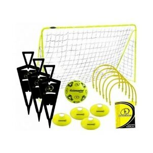 Football Training Challenge Equipment Practice Sports Hoops Cones Goal Ball NEW